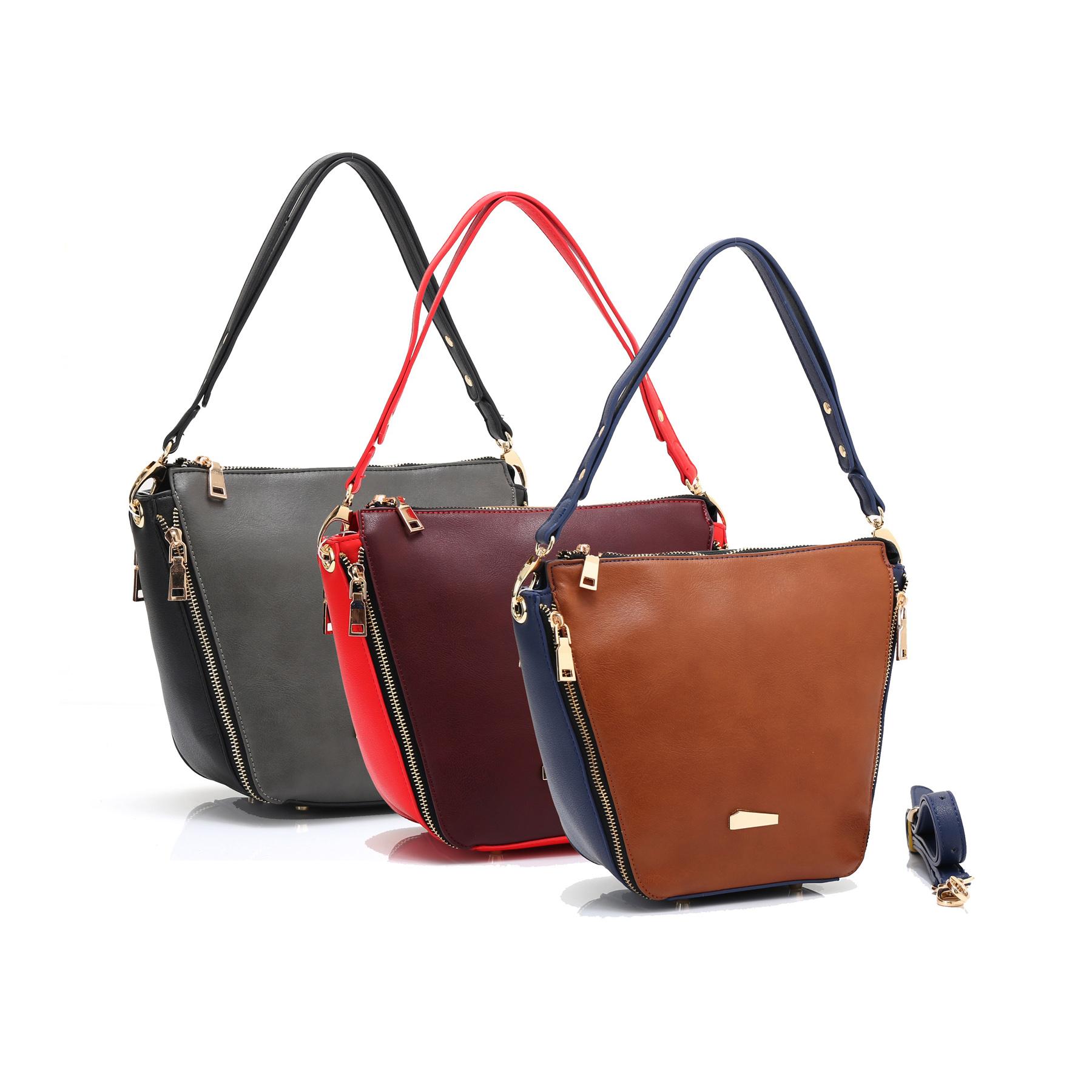 bda54b7391 HB-8697-silk-caress-designer-handbag-trapezium-triangular-